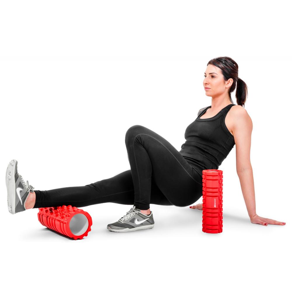 Роллер для кроссфита и йоги HS-001YG Красный