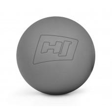 Силиконовый массажный мяч 63 мм HS-S063MB Серый