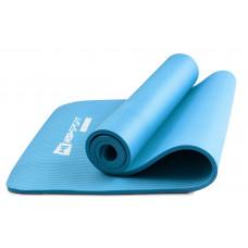 Мат для фітнесу та йоги 1 см HS-N010GM Блакитний