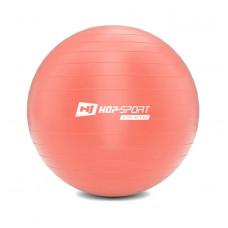 Фітбол 55 см Рожевий + насос