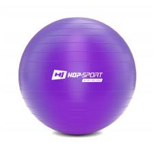 Фітбол 75 см Фіолетовий + насос