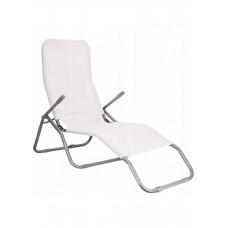 Шезлонг (лежак) для пляжа, террасы и сада Springos GC0032
