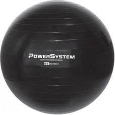М'яч для фітнесу та гімнастики Power System PS-4011 55cm Black