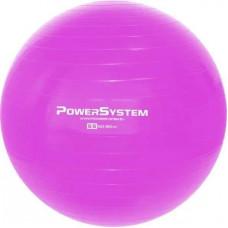 М'яч для фітнесу та гімнастики Power System PS-4011 55cm Pink