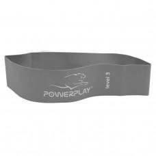 Фітнес-гумка PowerPlay 4140 Level 3 (600*60*1.0 мм, 15 кг) Сіра