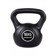 Гиря спортивная (тренировочная) Springos 16 кг FA1007