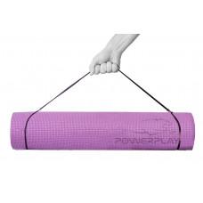 Килимок для йоги та фітнесу PowerPlay 4010 (173*61*0.6), лавандовий