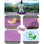 Коврик для йоги та фитнесу PowerPlay 4010 (173*61*0.6), лавандовий