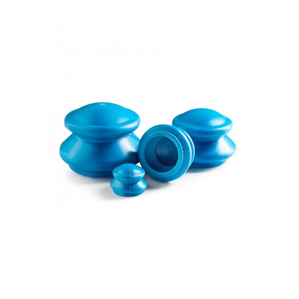 Вакуумные массажные банки 4FIZJO для тела (китайские/антицеллюлитные банки) 4 шт 4FJ0233