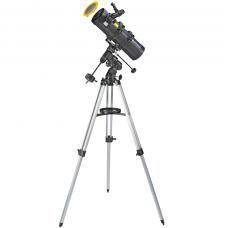 Телескоп Bresser Spica 130/1000 EQ3 Reflector Solar Carbon с солнечным фильтром и адаптером для смартфона (4630100)