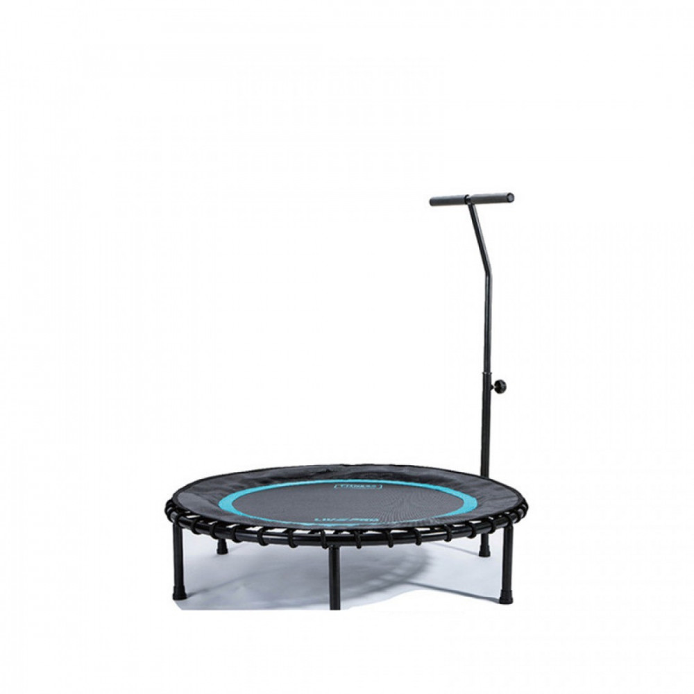 Батут з ручкою LivePro TRAMPOLINE WITH HANDLE чорний/синій