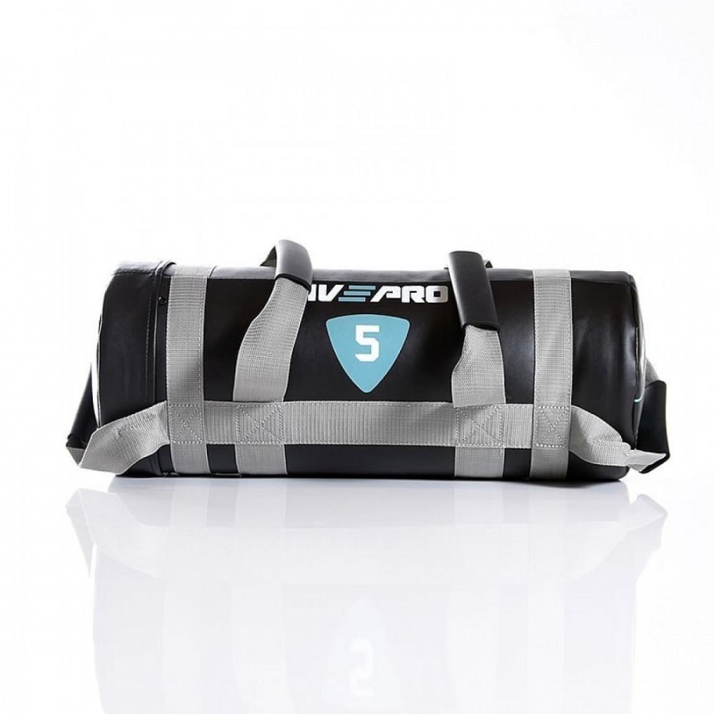 Мешок для кроссфита LivePro POWER BAG черный/серый, 20 кг
