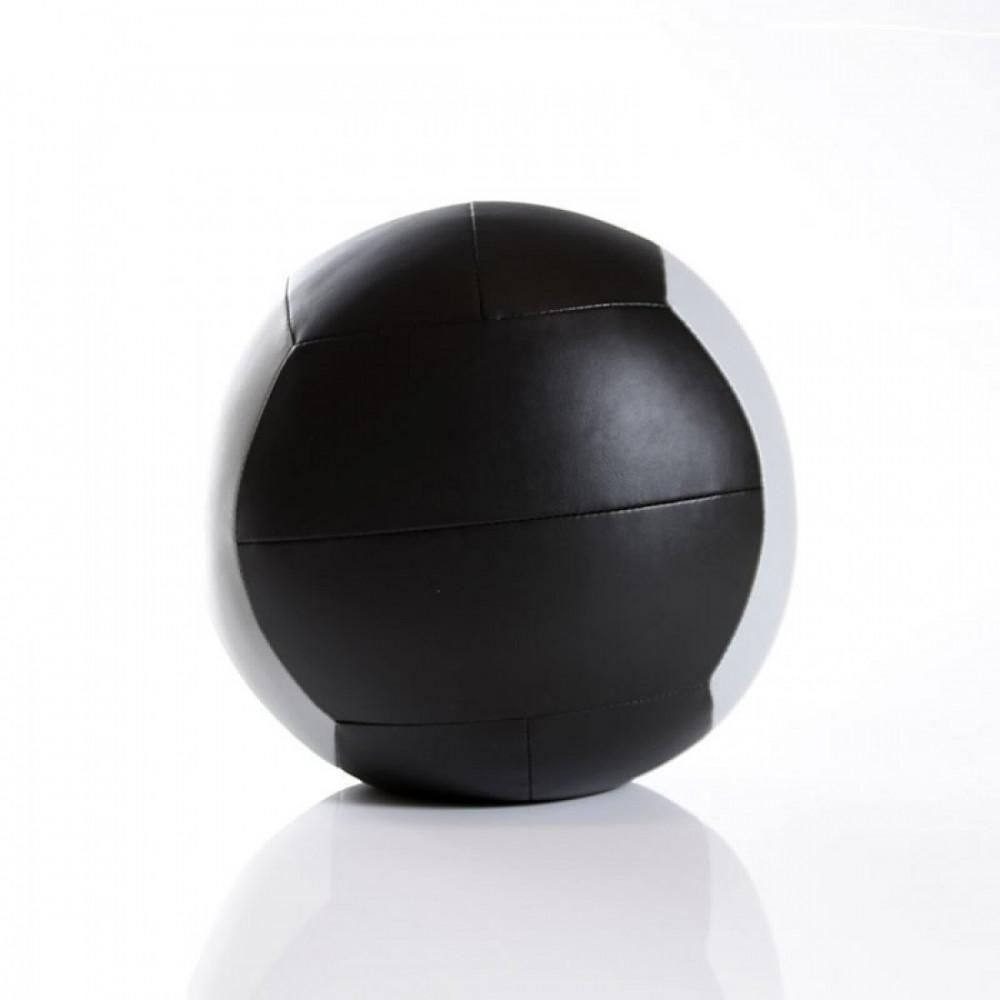 Мяч для кроcсфита LivePro WALL BALL черный/серый, 8 кг