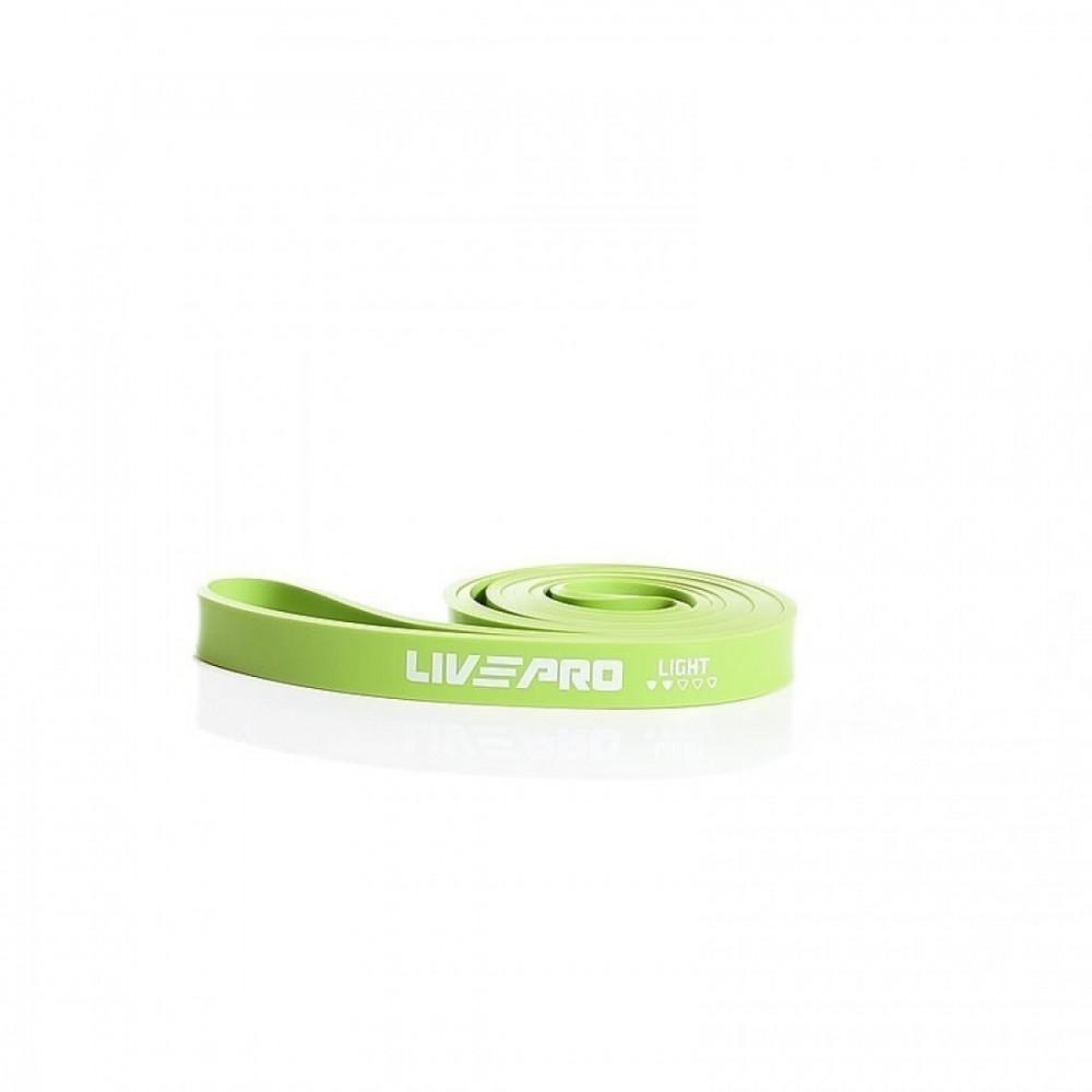 Еспандер для тренувань LivePro SUPER BAND Light зелений