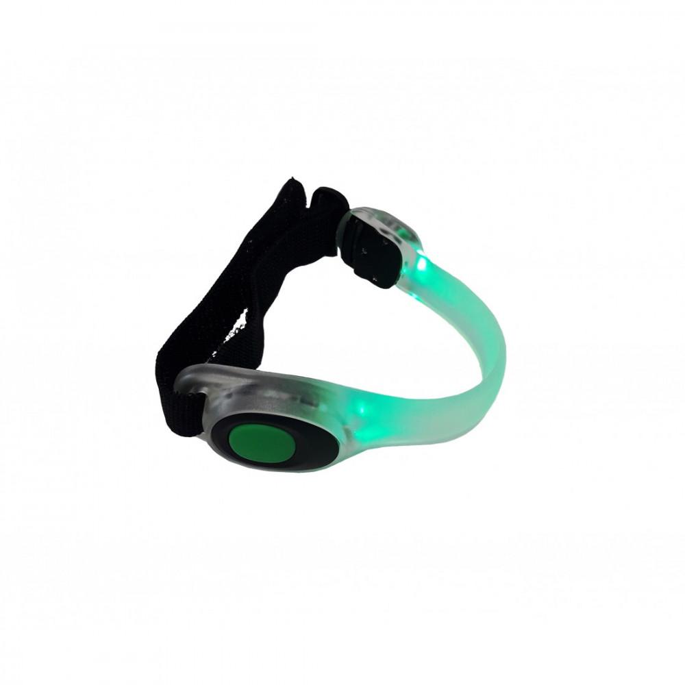 Браслет-підсвітлювач для бігу LiveUp LED SAFETY ARM LS3408