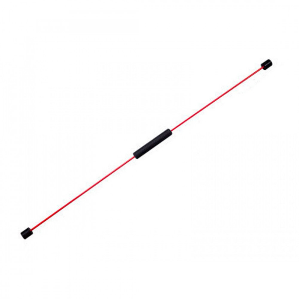Вібротренажер LiveUp FLEX BAR black + red