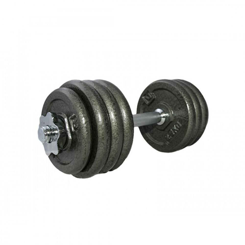 Гантель складальна залізна LiveUp DUMBELL SET, 20 кг, LS2311-20