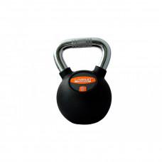 Гиря в резиновой оболочке LiveUp RUBBER KETTEL BELL, 20 кг, LS2044-20