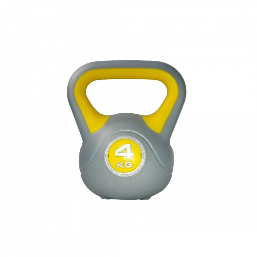 Гиря пластикова насипна LiveUp PLASTIC KETTEL BELL, 4 кг, LS2047-4
