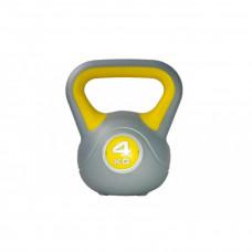 Гиря пластиковая насыпная LiveUp PLASTIC KETTEL BELL, 4 кг, LS2047-4