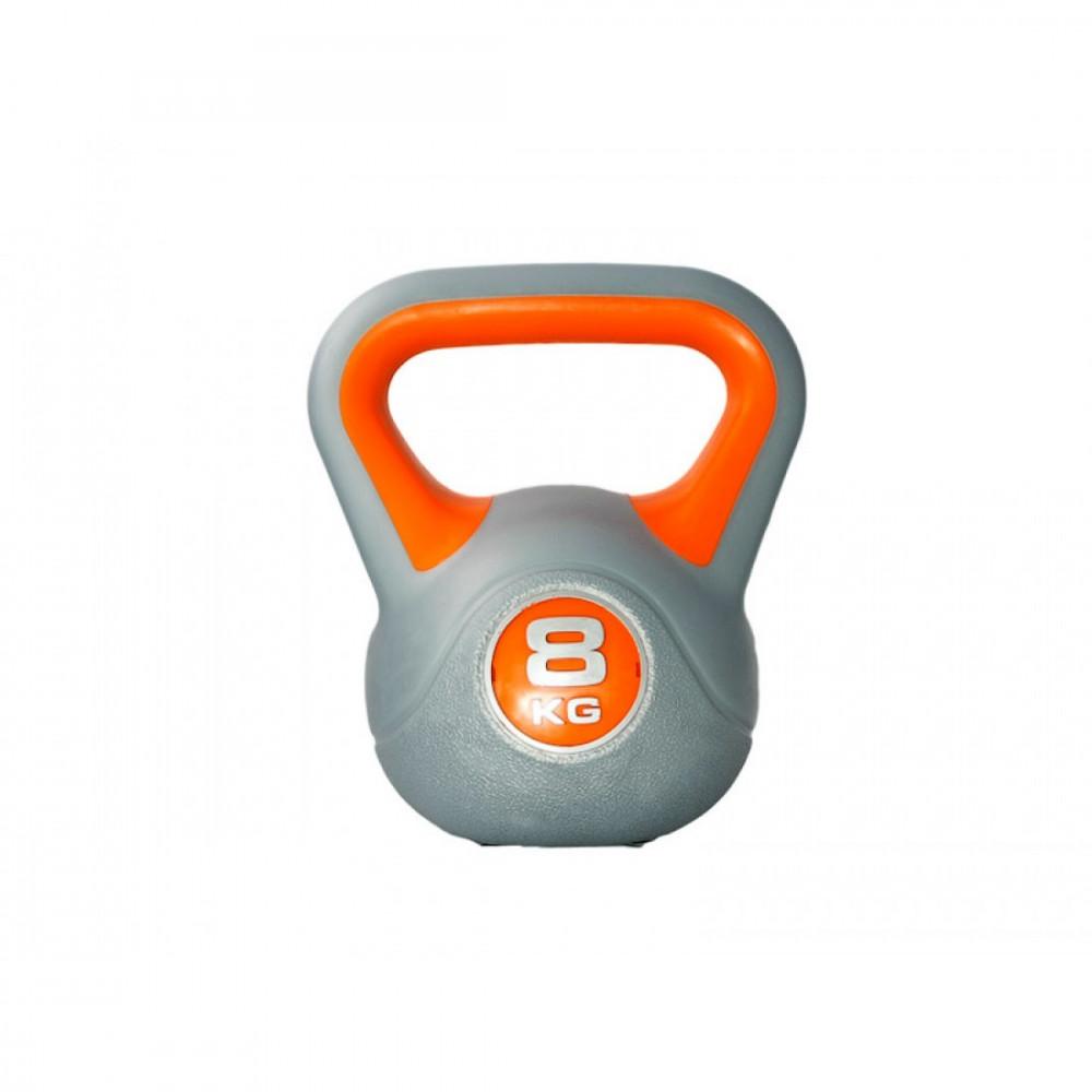 Гиря пластиковая насыпная LiveUp PLASTIC KETTEL BELL, 8 кг, LS2047-8