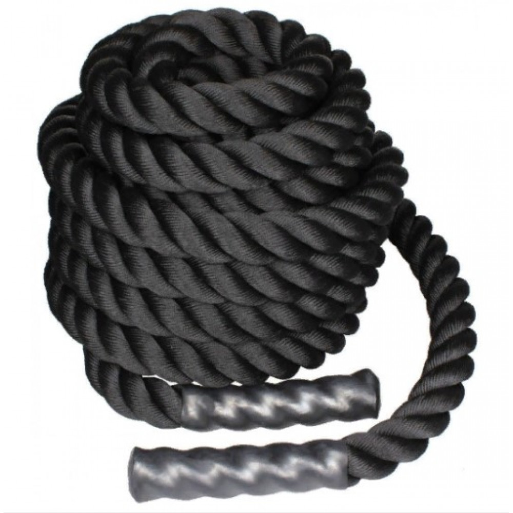 Канат для кроссфіта LiveUp BATTLE ROPE, 12 м, LS3676-12