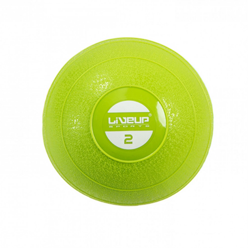 Медбол м'який набивний LiveUp SOFT WEIGHT BALL, 2 кг, LS3003-2