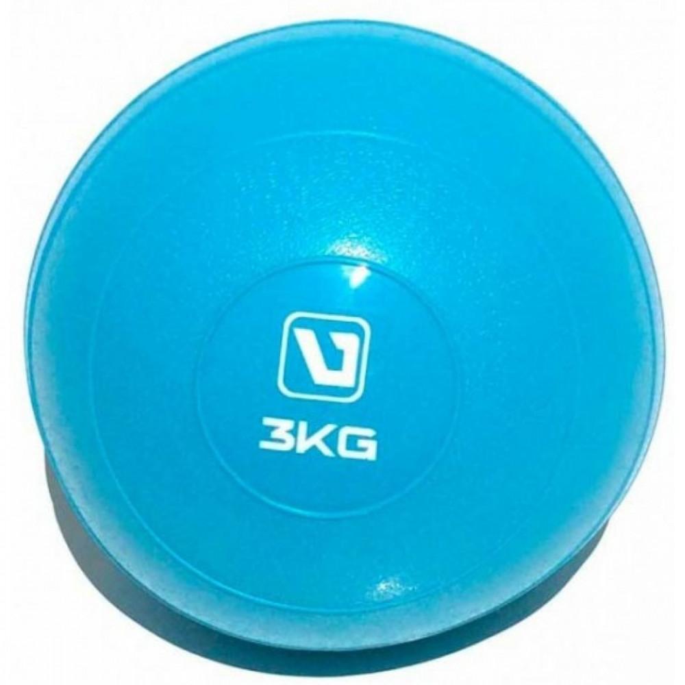 Медбол м'який набивний LiveUp SOFT WEIGHT BALL, 3 кг, LS3003-3