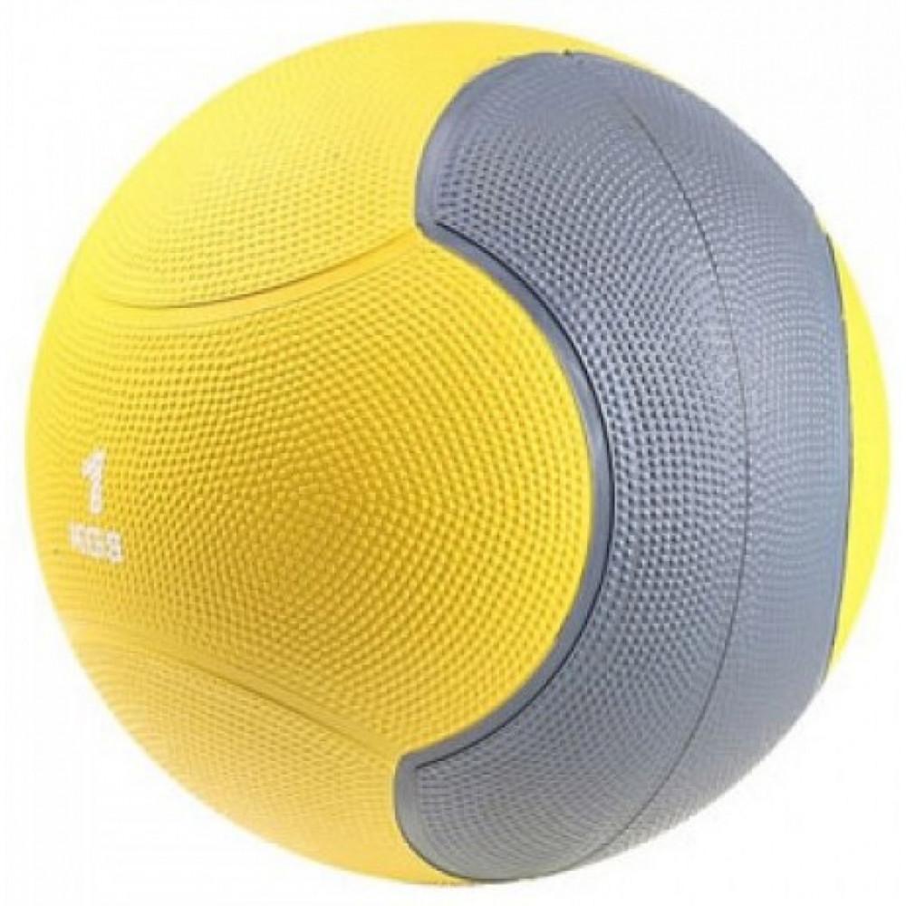 Медбол твердий LiveUp MEDICINE BALL, 1 кг, LS3006F-1