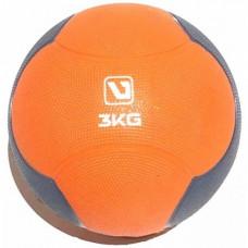Медбол твердый LiveUp MEDICINE BALL, 3 кг, LS3006F-3