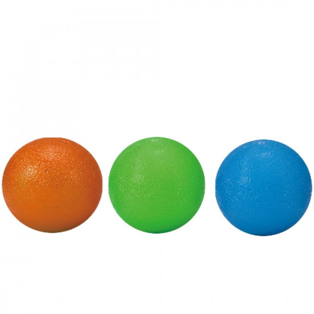 М'ячики-тренажери для кисті LiveUp GRIP BALL, набір 3 шт., LS3311