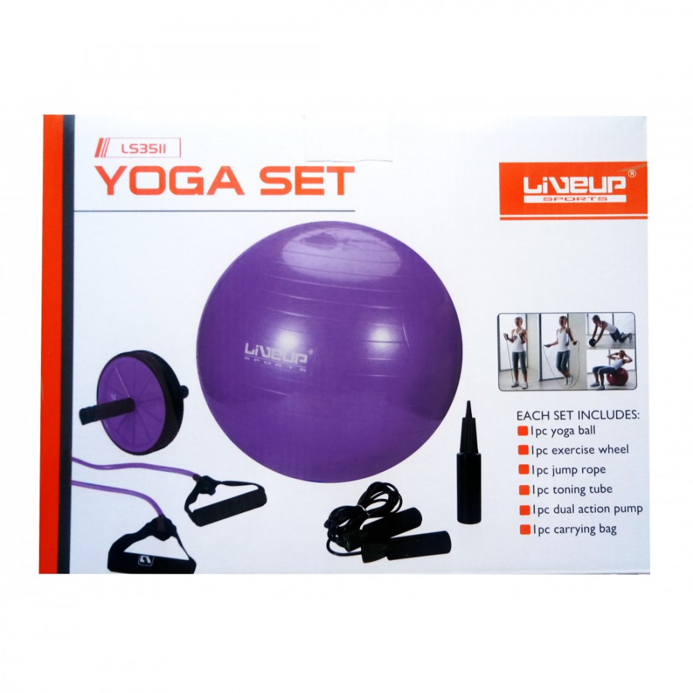 Набір для тренувань LiveUp YOGA SET, LS3511