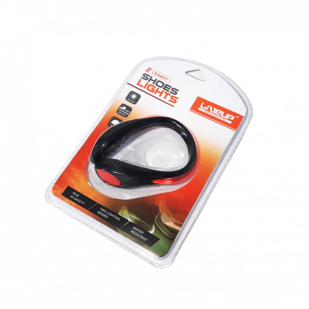 Підсвічування на взуття для бігу LiveUp LED SAFETY SH LS3407