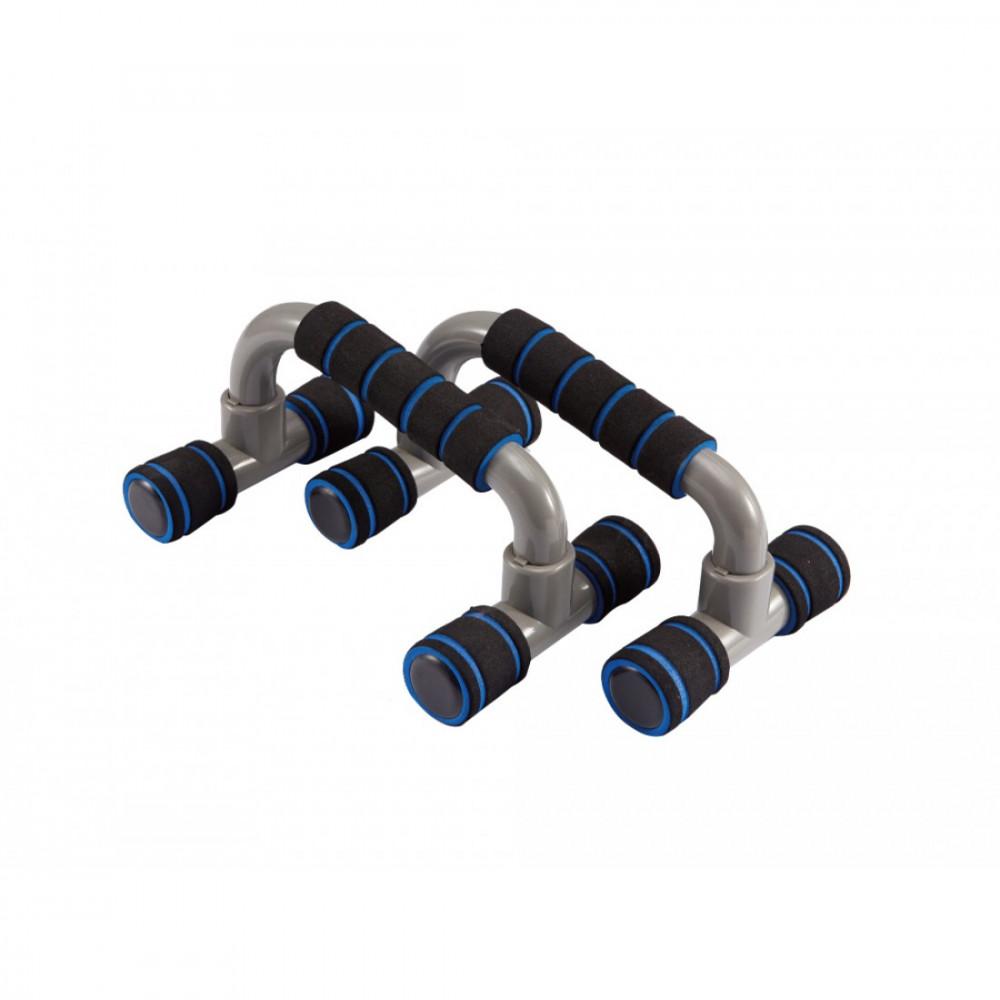Упори для віджимання LiveUp PLASTIC PUSH UP BAR, пластикові, набір 2 шт., LS3164E