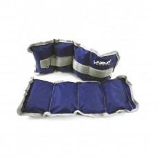 Утяжелитель запястье/щиколотка LiveUp WRIST/ANKLE WEIGHT, 2х1 кг, LS3011-1