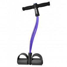 Эспандер с упорами для ног LiveUp SOFT PULL, LS3205
