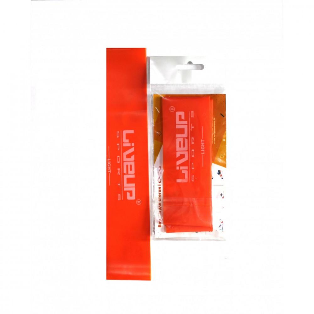 Еспандер-петля LiveUp LATEX LOOP, помаранчевий L-500х50