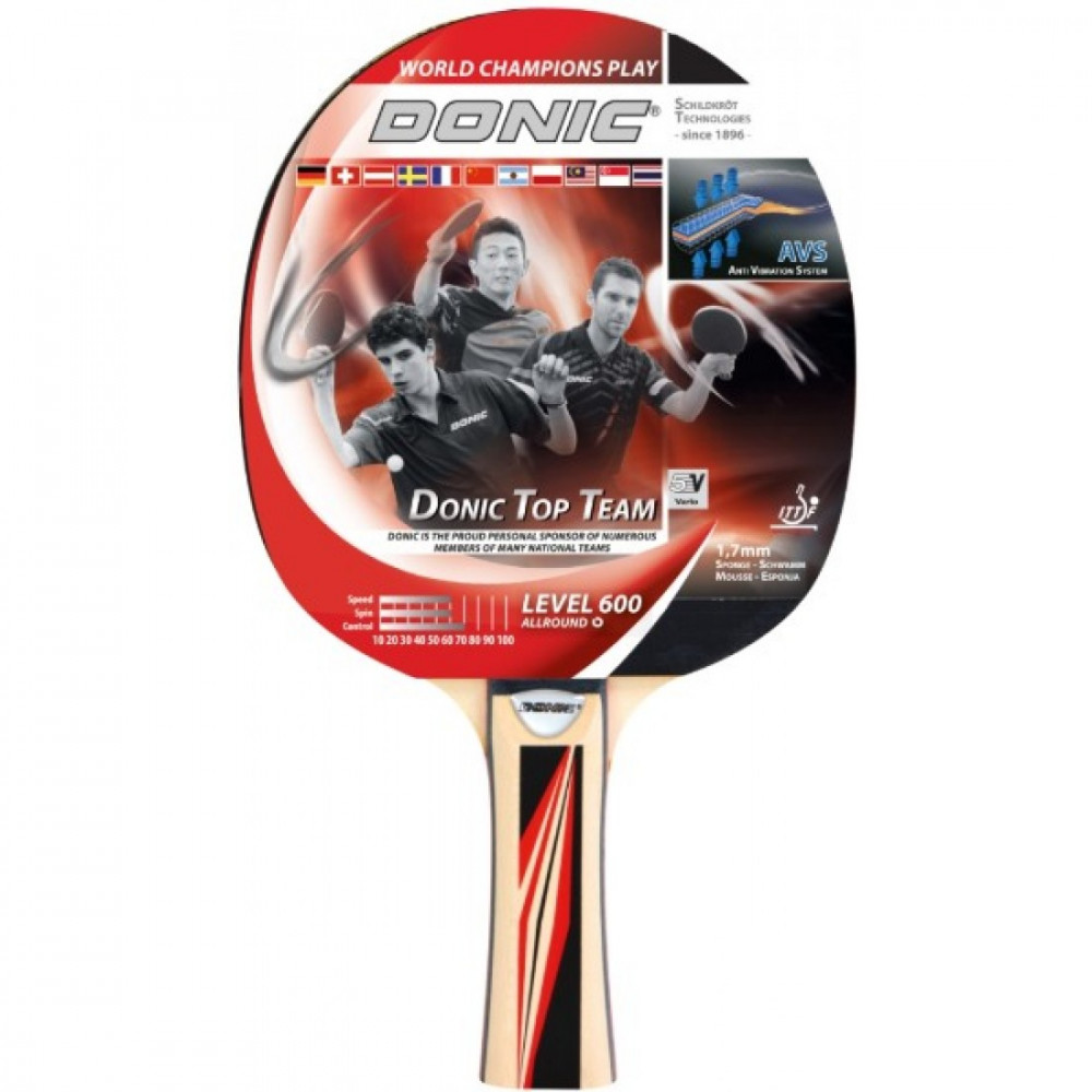 Ракетка для настольного тенниса Top Team 600