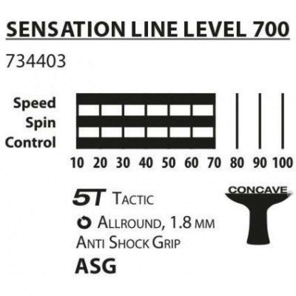 Ракетки для пінпонга Donic Sensation 700