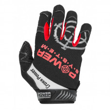 Перчатки для кроссфит с длинным пальцем Power System Cross Power PS-2860 XXL Black/Red