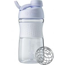 Спортивная бутылка-шейкер BlenderBottle SportMixer Twist 590ml White (ORIGINAL)