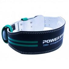 Пояс для тяжелой атлетики Power System Dedication PS-3260 Black/Green M