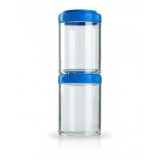 Контейнер спортивный BlenderBottle GoStak 2 Pak Blue (ORIGINAL)