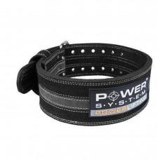 Пояс для пауэрлифтинга Power System Power Lifting PS-3800 M Black/Grey