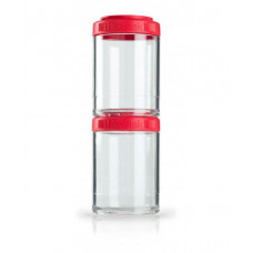 Контейнер спортивный BlenderBottle GoStak 2 Pak Red (ORIGINAL)