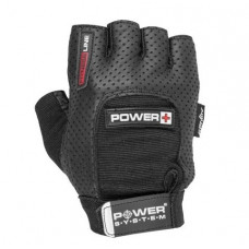 Перчатки для фитнеса и тяжелой атлетики Power System Power Plus PS-2500 XS Black