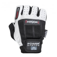 Перчатки для фитнеса и тяжелой атлетики Power System Fitness PS-2300 S Black/White