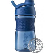 Спортивная бутылка-шейкер BlenderBottle SportMixer Twist 590ml Navy (ORIGINAL)