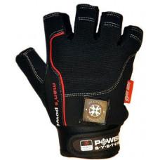Перчатки для фитнеса и тяжелой атлетики Power System Man's Power PS-2580 XL Black