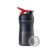 Спортивная бутылка-шейкер BlenderBottle SportMixer 590ml Black/Red (ORIGINAL)